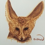 Fennec Fox Sketch - Markers